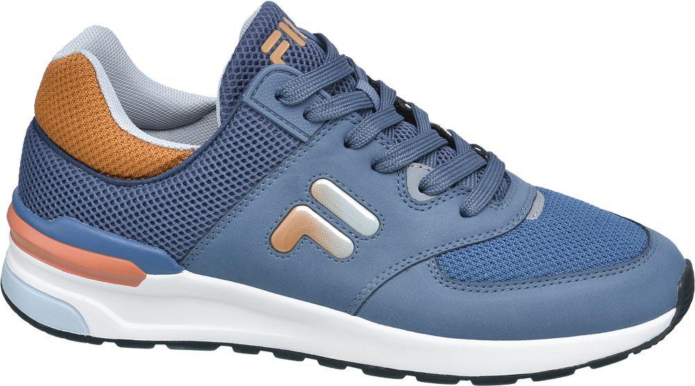 niebieskie sneakersy męskie Fila