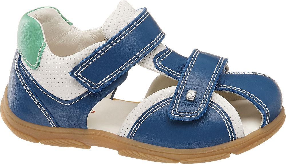 niebiesko-białe sandały chłopięce Elefanten, tęgość M