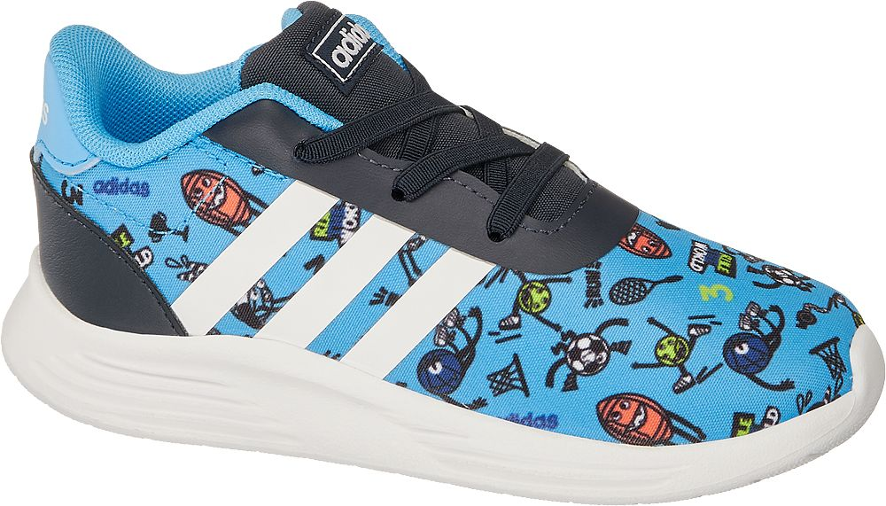 niebiesko-czarne sneakersy chłopięce adidas Lite Racer