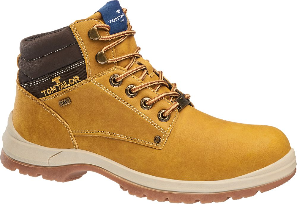 Deichmann - Tom Tailor Šněrovací obuv s membránou TEX 40 hnědá d673f78b3b