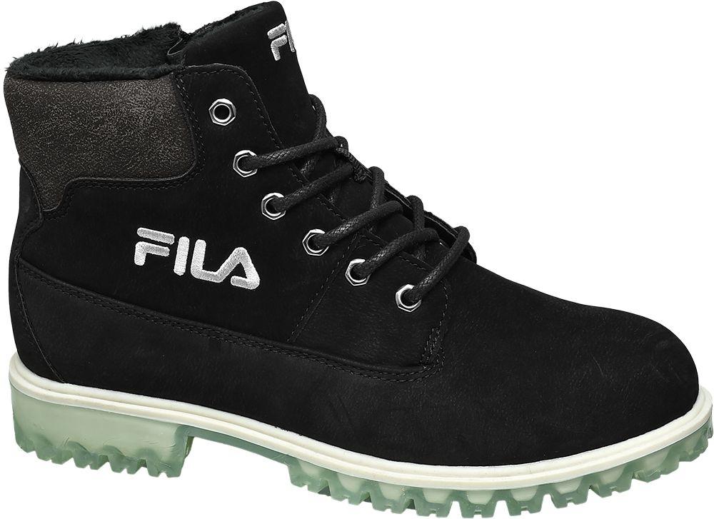 Fila Šněrovací obuv  černá