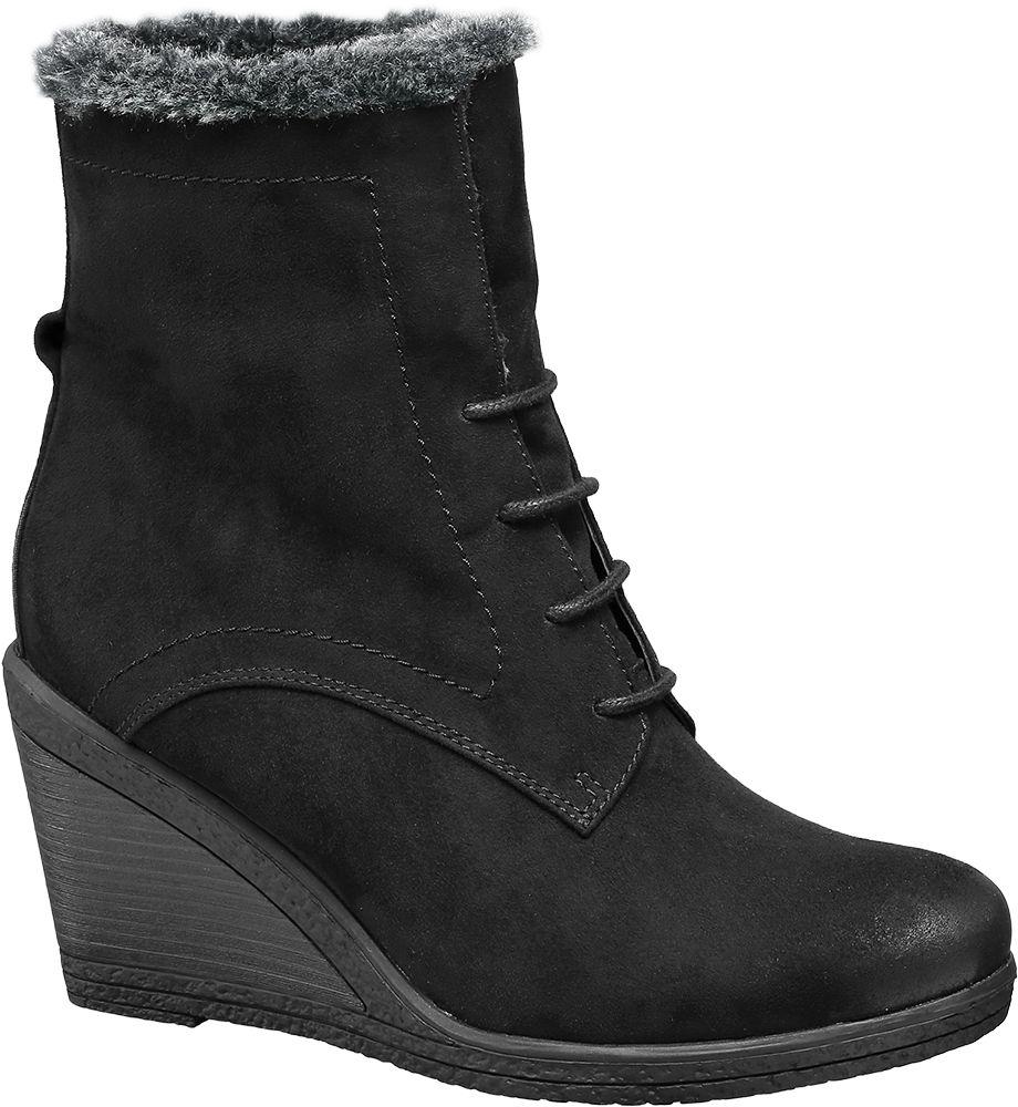 Deichmann - Graceland Šněrovací obuv 37 černá