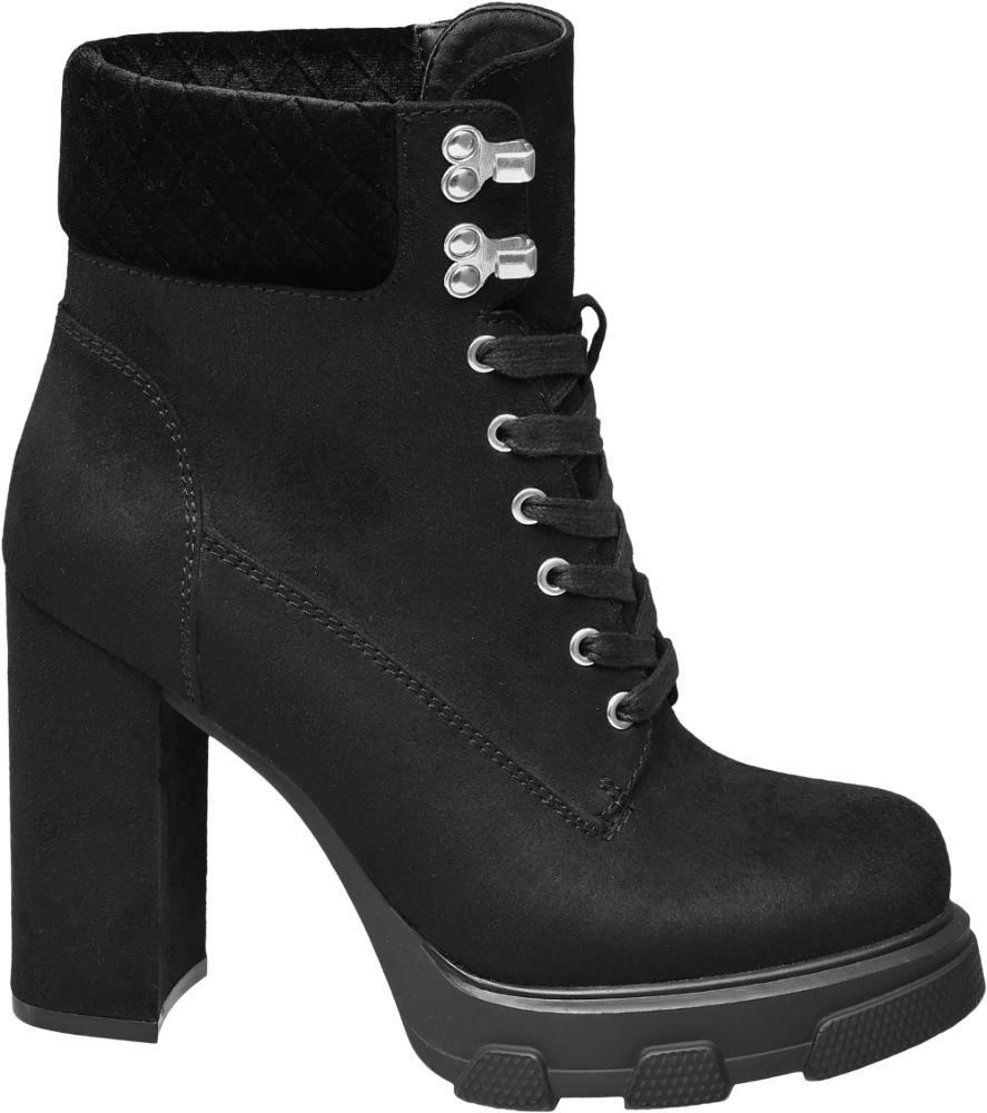 Graceland Šněrovací obuv  černá