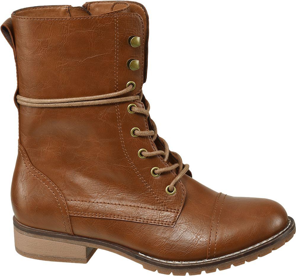 Deichmann - Graceland Šněrovací obuv 41 koňaková