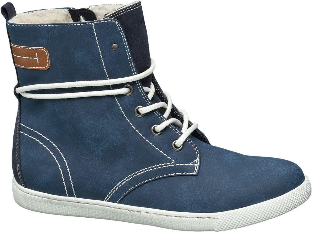 Graceland Šněrovací obuv  modrá
