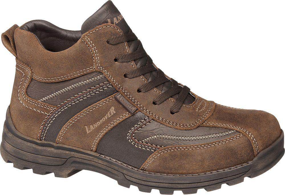 Deichmann - Landrover Šněrovací obuv 40 barva zrnkové kávy