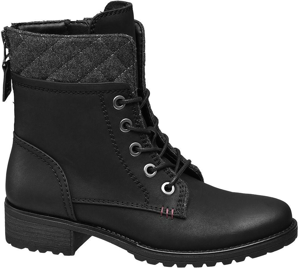 Landrover Šněrovací obuv  černá