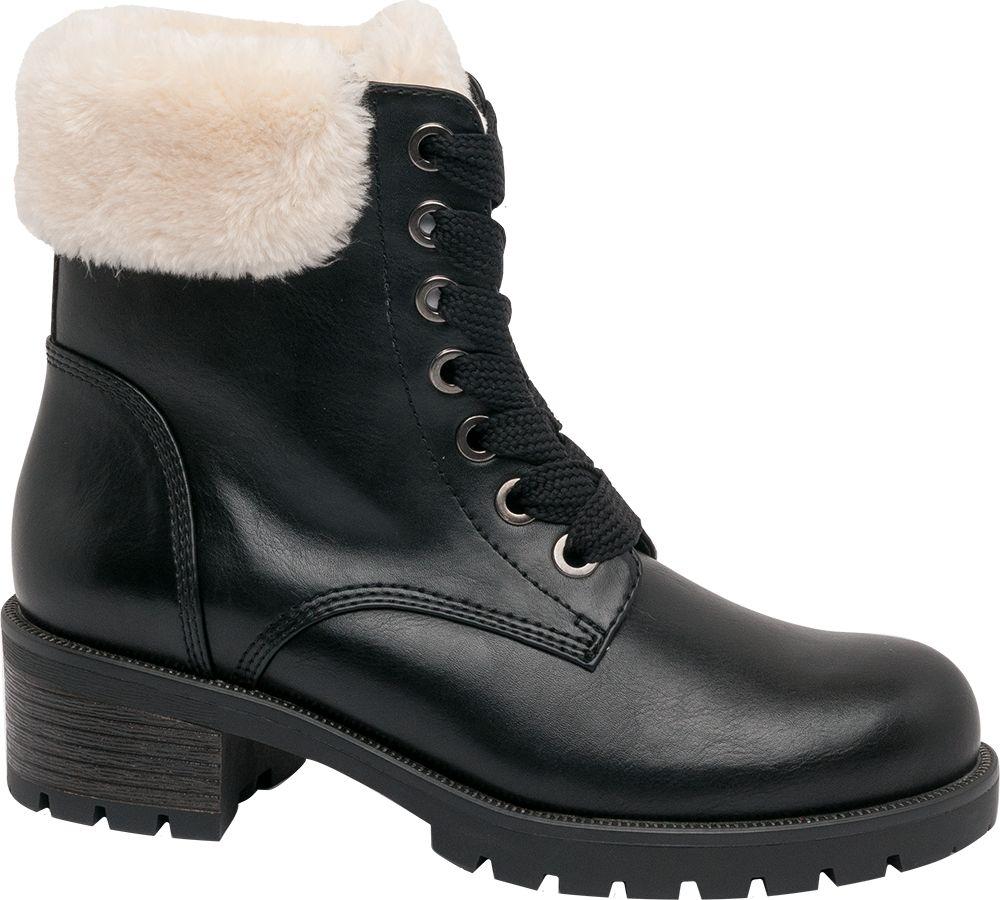 4e073887b0 Deichmann - Landrover Šněrovací obuv 42 černá