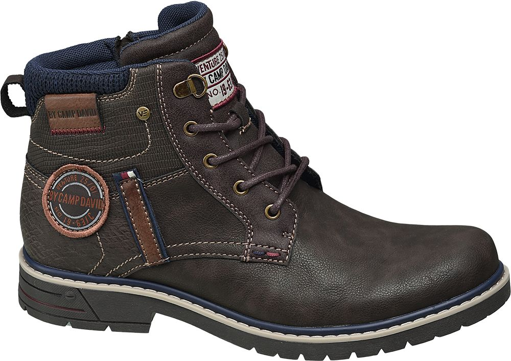 Venture by Camp David Šněrovací obuv  hnědá