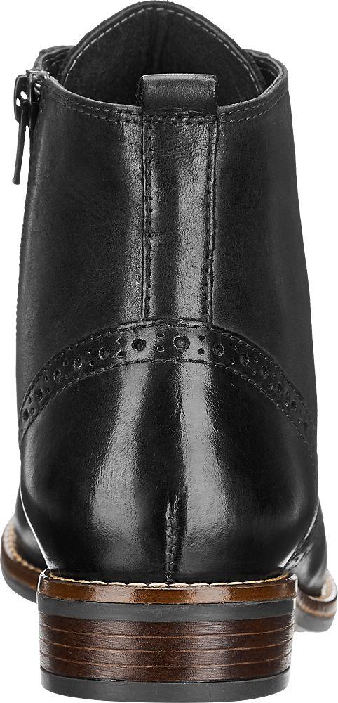 5th Avenue Šněrovací obuv  černá