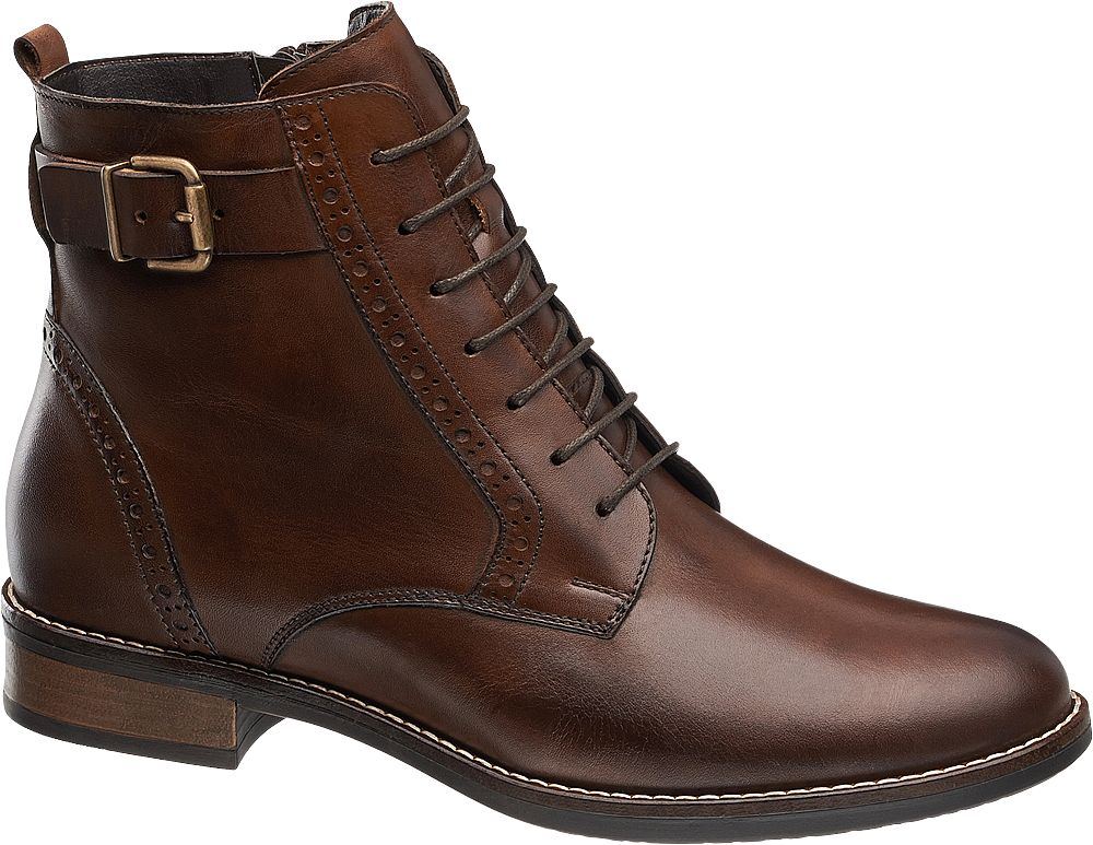 Deichmann - 5th Avenue Šněrovací obuv 36 hnědá