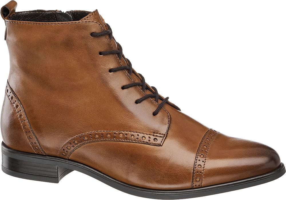 5th Avenue Šněrovací obuv  hnědá