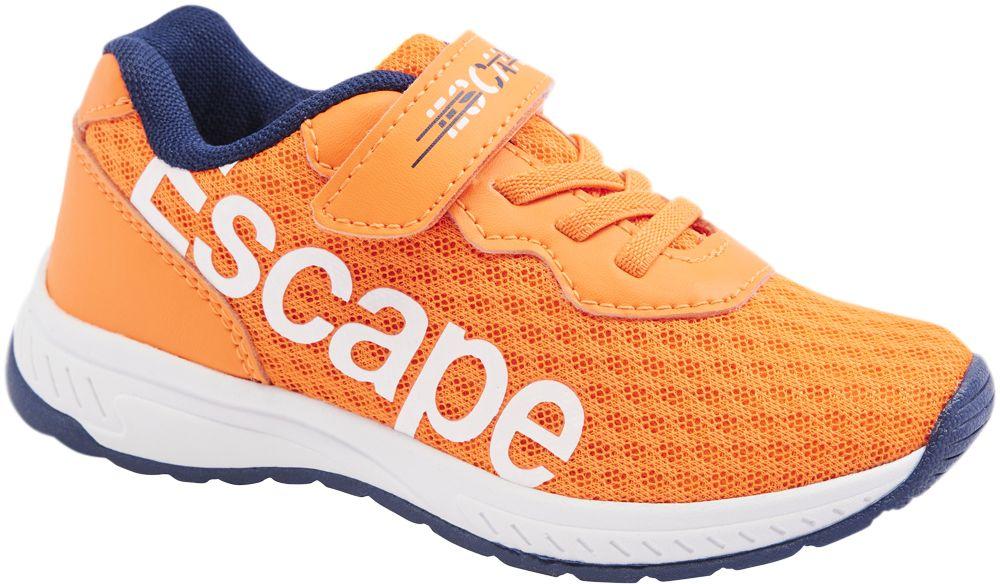 pomarańczowe sneakersy dziecięce Bobbi-Shoes