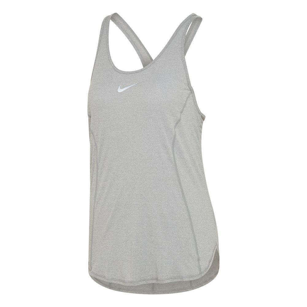 popielata koszulka damska Nike Dri-FIT