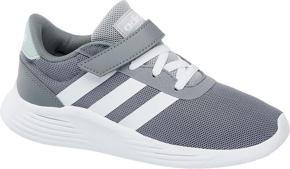 popielato-białe sneakersy dziecięce adidas Lite Racer 2.0