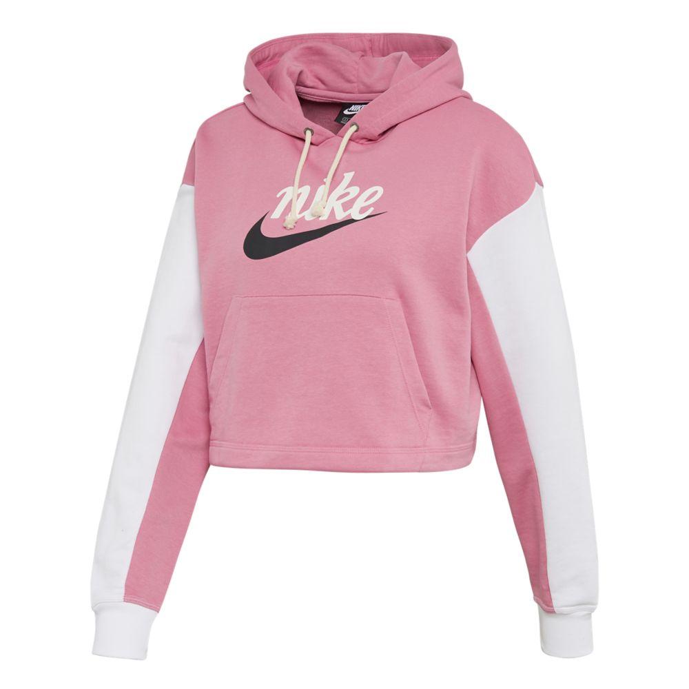 różowa bluza damska Nike z kapturem