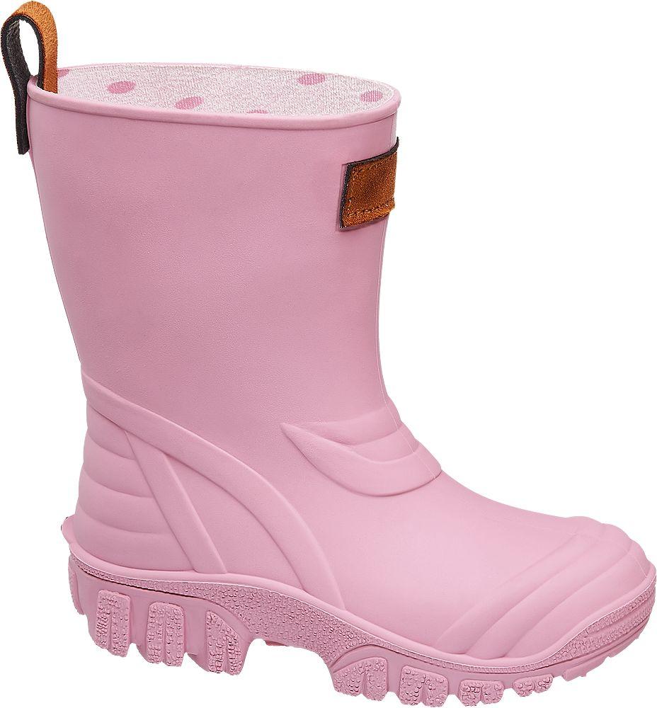 różowe kalosze dziewczęce Cortina