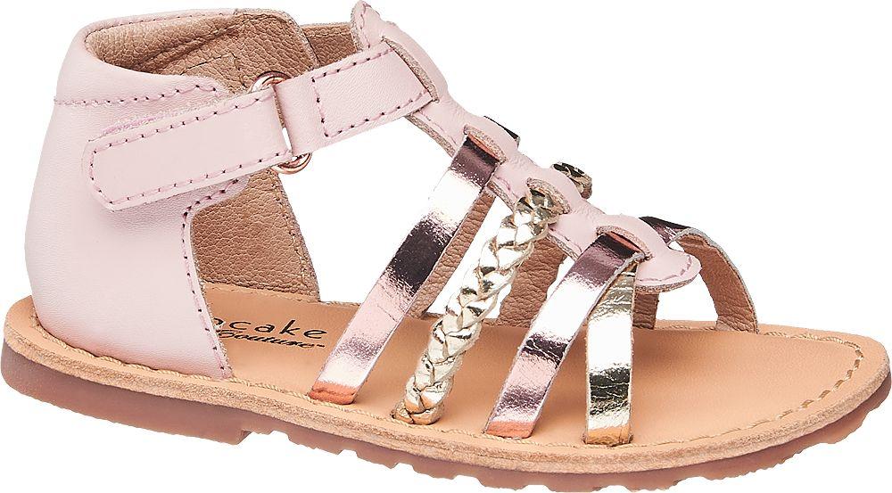 różowe sandałki dziewczęce Cupcake Couture