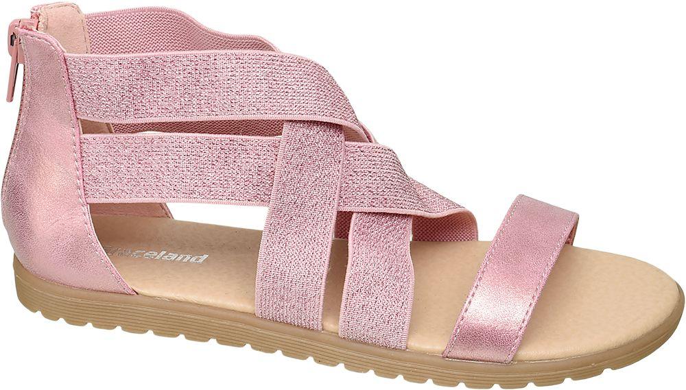 różowe sandały dziewczęce Graceland