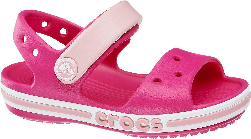 różowe sandały dziewczęce na grubszej podeszwie