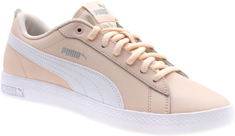 różowe sneakersy Puma Smash Junior
