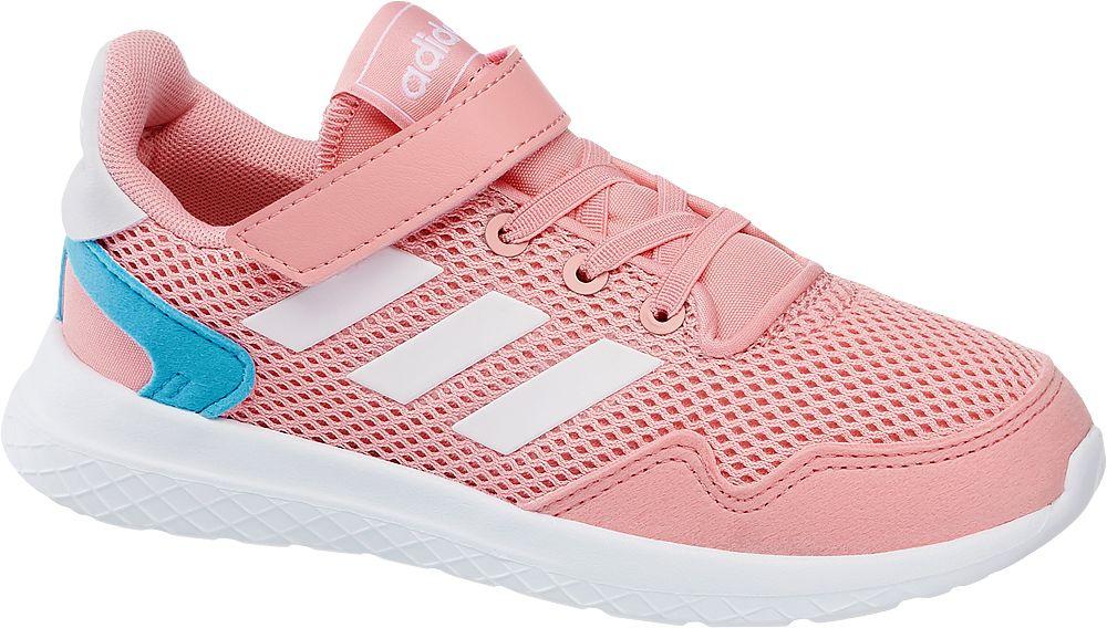 różowe sneakersy damskie adidas Archivo C