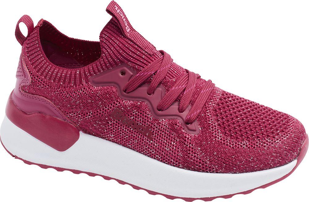 różowo-białe sneakersy dziewczęceBench