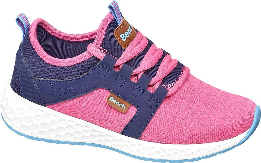 różowo-granatowe sneakersy dziewczęce Bench