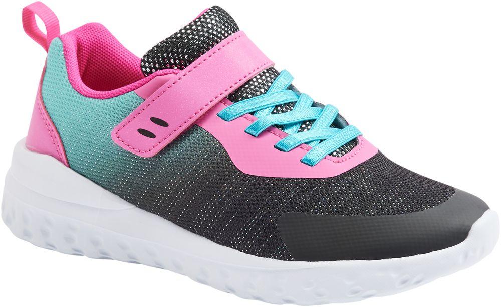 różowo-niebiesko-czarne sneakersy dziecięce Vty