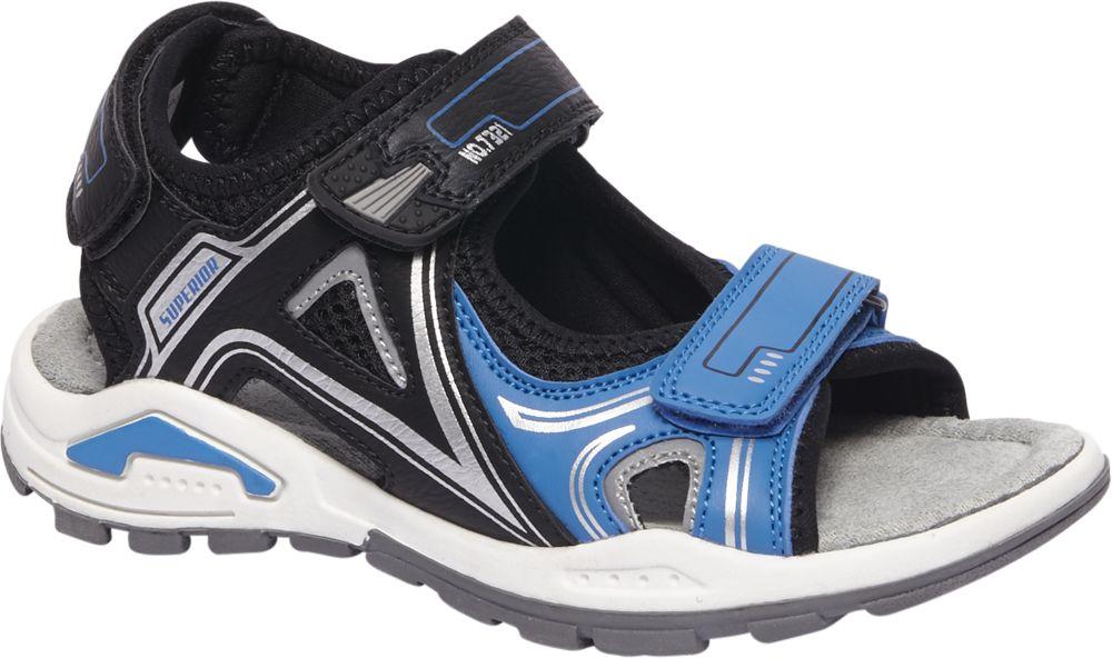 Sandały dziecięce AGAXY niebieskie