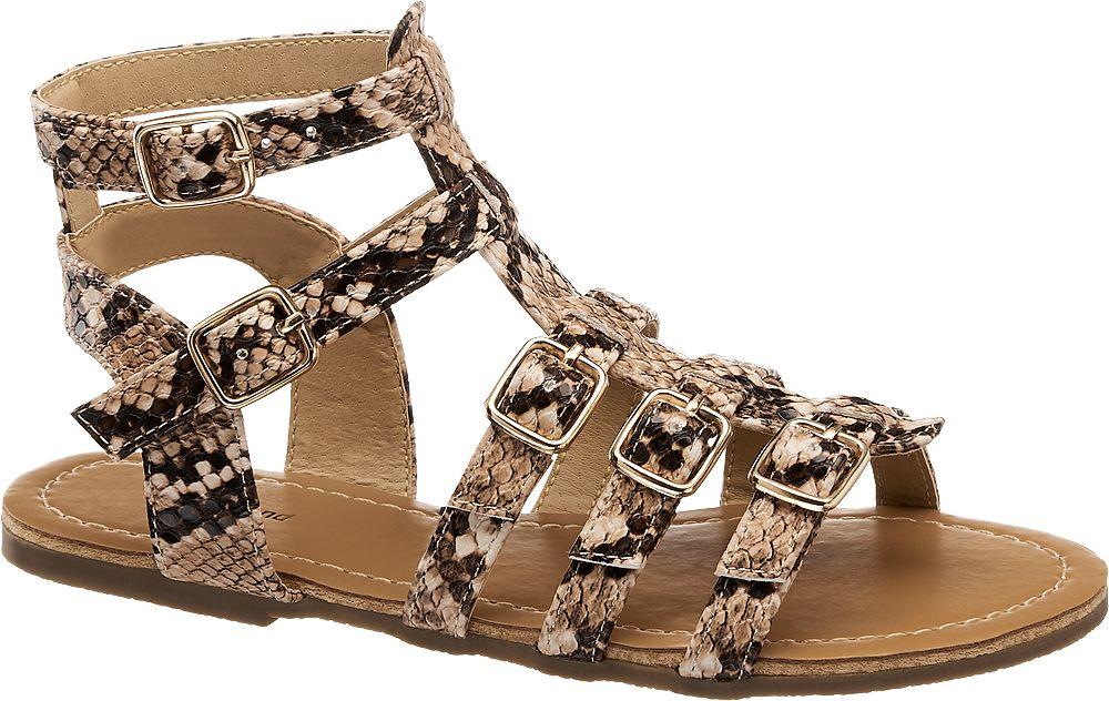 sandały dziewczęce Graceland typu rzymianki