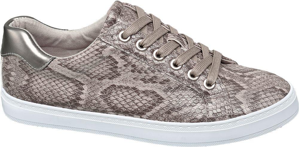 sneakersy damskie Graceland w wężowy wzór