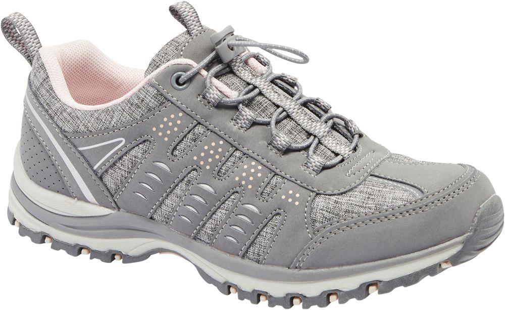 szare sneakersy damskie Graceland z praktycznym ściągaczem