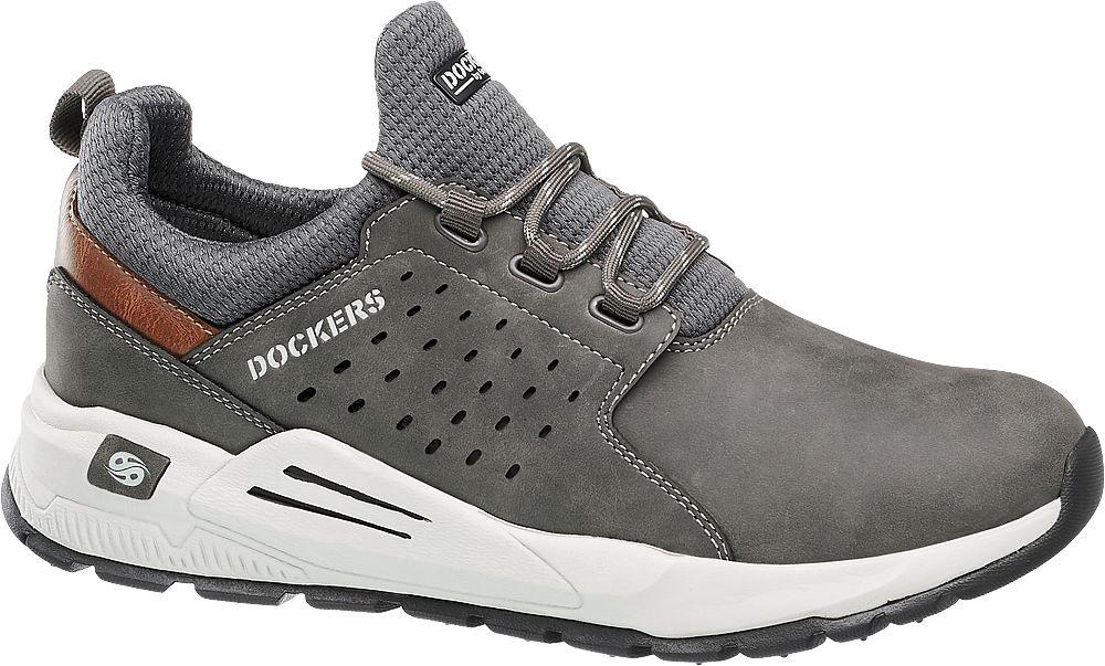 szare sneakersy męskie Dockers