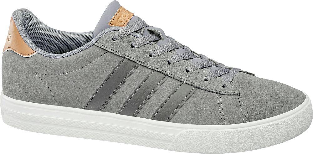 szare sneakersy męskie adidas Daily 2.0