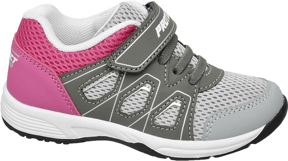 szaro-różowe sneakersy dziewczęce Cupcake Couture
