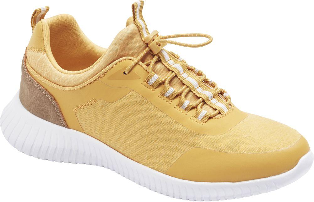 żółte sneakersy damskie Graceland