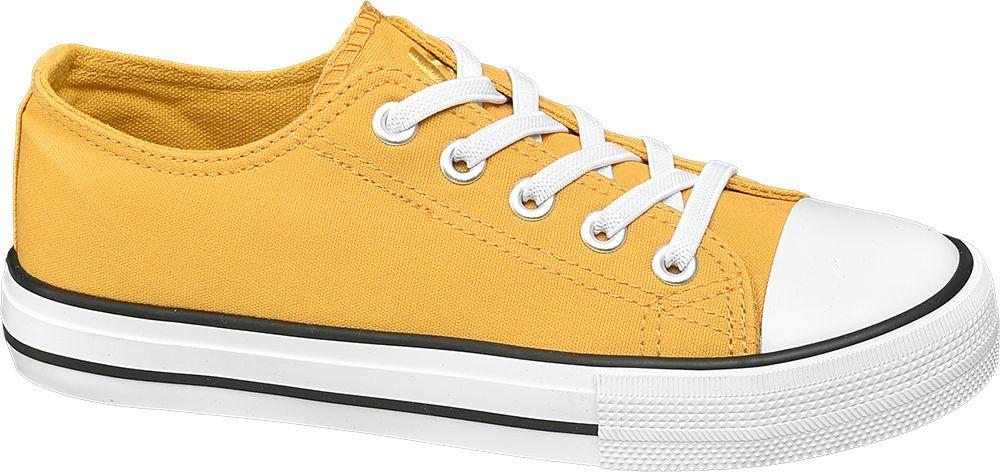żółte tenisówki dziecięce Vty