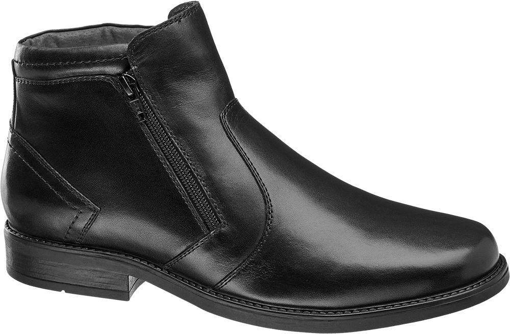 zimowe buty męskie Claudio Conti w kolorze czarnym