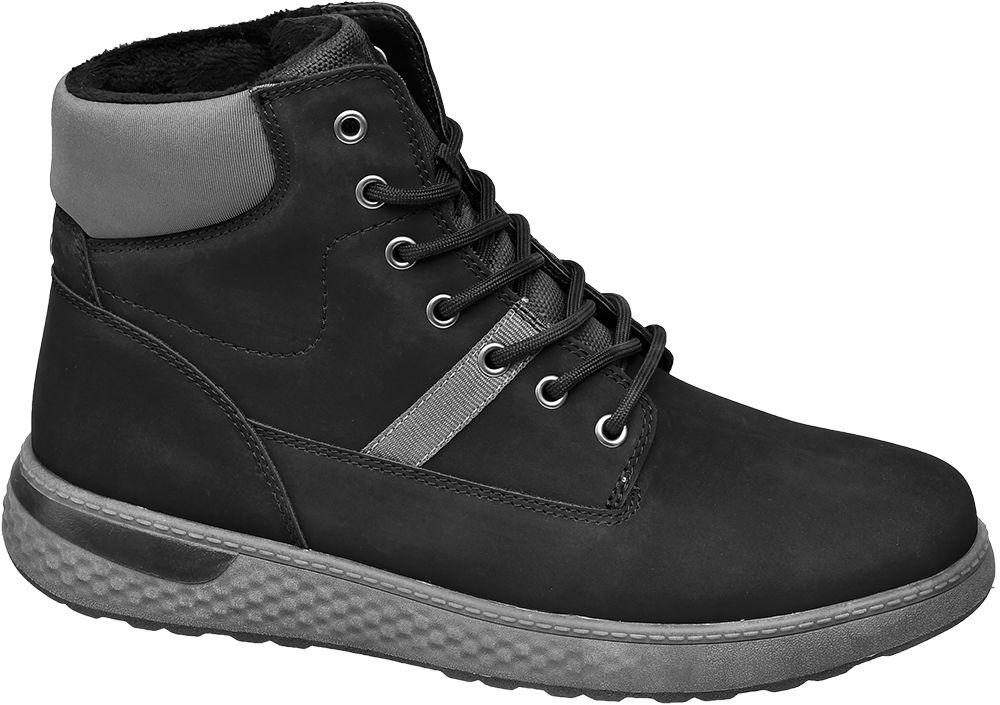 zimowe buty męskie Vty na szarej podeszwie