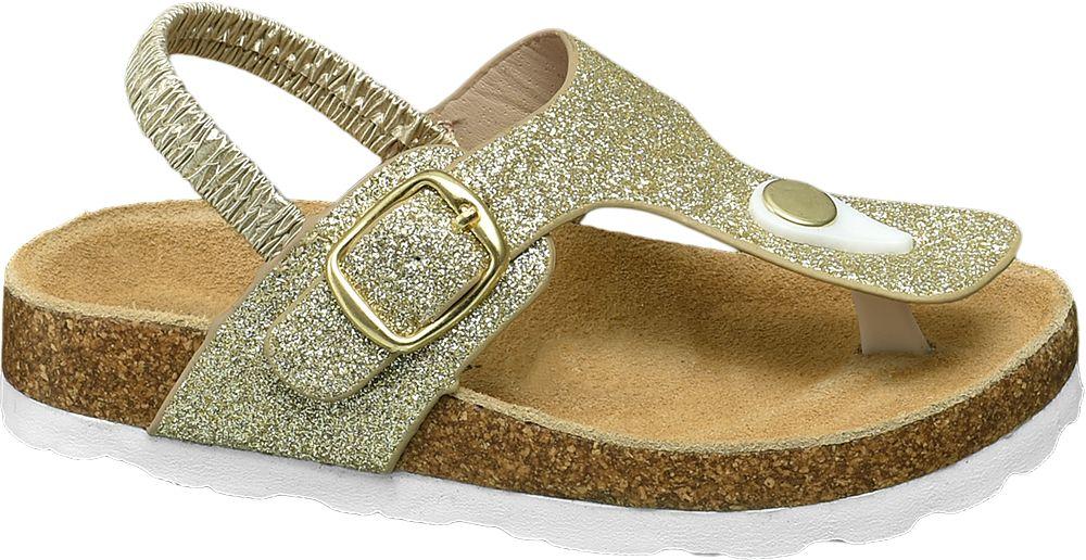 złote sandały dziewczęce Cupcake Couture