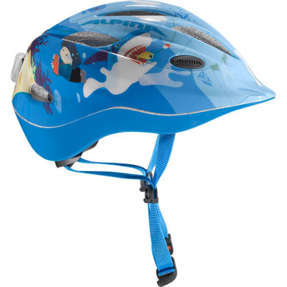 Alpina Alpina Casque de vélo Garçons