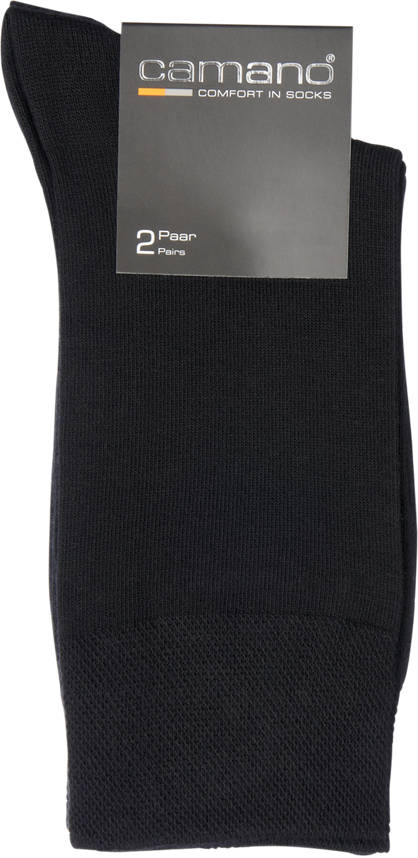 Camano Camano 2er Pack Business-Socken Gr. 39/42