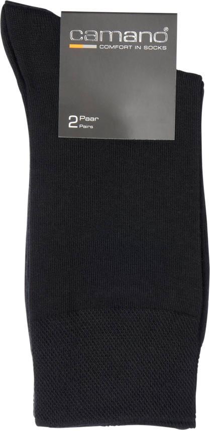 Camano Camano 2er Pack Business-Socken Gr. 43/46