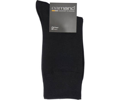 Camano 2er Pack Business-Socken Gr. 43/46