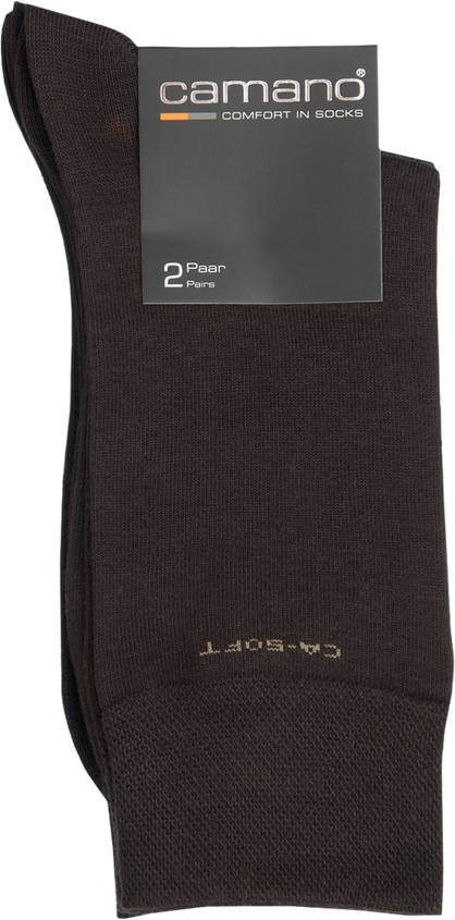 Camano 2er Pack City Socken Gr.39/42