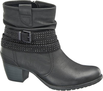 Graceland Plitke čizme sa ukrasom