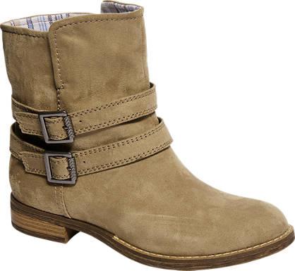 Graceland Plitke čizme sa kopčama