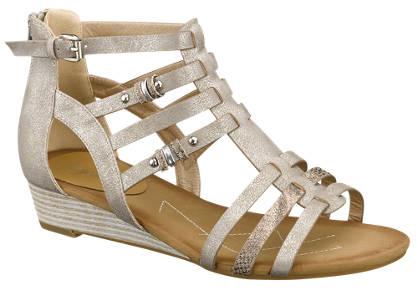 Graceland Graceland Keil-Sandale Damen