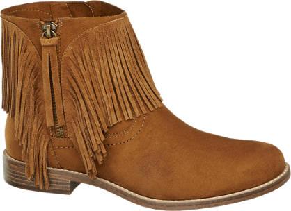 Graceland Plitke čizme sa resama